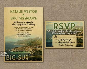 Tennessee Wedding Invitation Printable Vintage Tennessee
