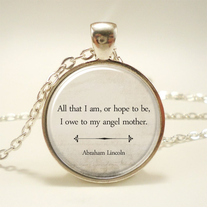 Gift for mom inspirational quote necklace mothers day zoom aloadofball Image collections