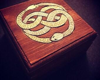 Neverending Story Auryn Falcor Box keepsake jewelry gift