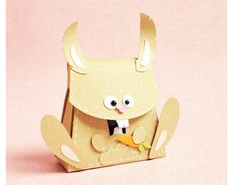 "plotterdatei - box poison ""bunny with carrot"""