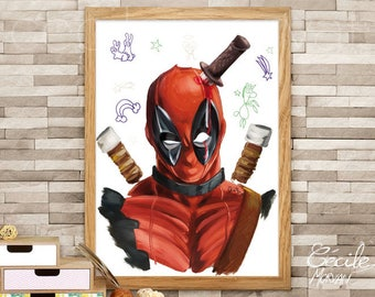 Limited edition poster Deadpool