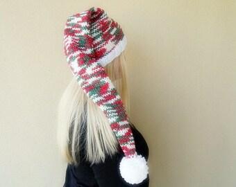 Unisex Long Sparkling Season Hat... Christmas & New Years...