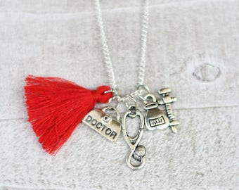 Doctor Necklace- Doctor - Nurse Jewelry