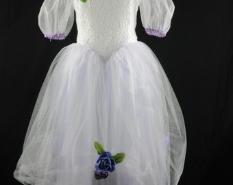 Flower girl - Communion Dress - Size 8
