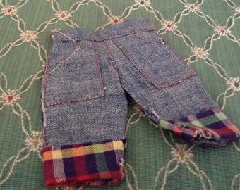 Vintage Levi Style Doll Pants
