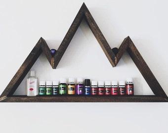 Rustic Mountain Shelf