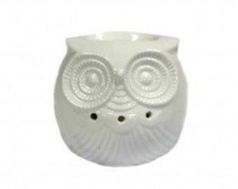 Classic White Fragrance lamp-Small Owl