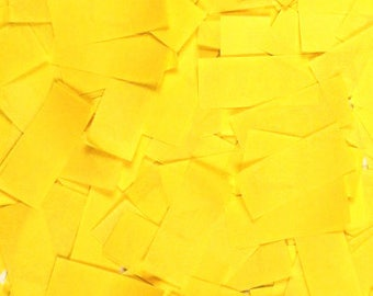 Yellow Tissue Confetti