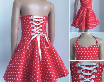 Robe fillette rockabilly