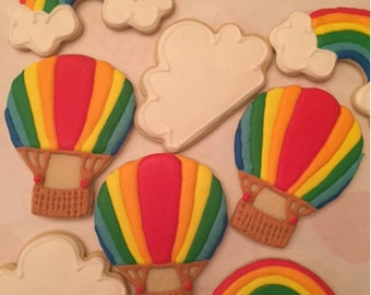 Hot air Balloon Cookie Mix