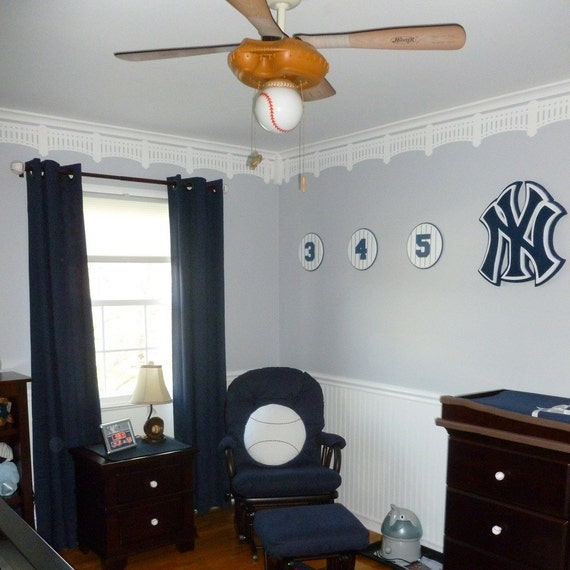 NY Yankee Stadium Stencil, DIY, Baseball Wall Decor, Wall Stencil, Nursery  Stencil, Man Cave Decor, Home Decor, Instructions Included From  PatMcWhorter On ...