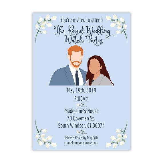 Royal Wedding Watch Party Invitation