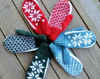 Wintertide Mittens | Crochet Pattern