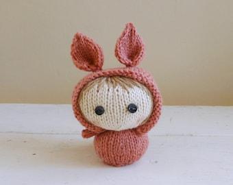 Mini Bunny Baby Joyce, Cute Stuffed Animal, Bunny Stuffed Animal, Baby Doll