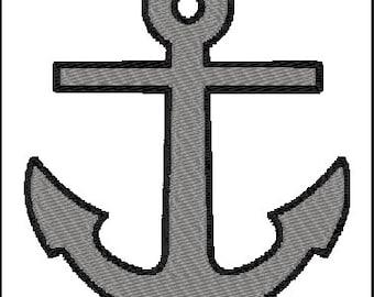 Anchor Embroidery Design