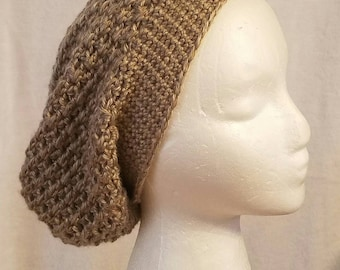 Beautiful Hand Crochet Women's Slouchy Hat   Many Colors Available