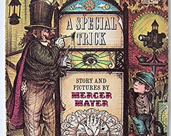A Special Trick by Mercer Mayer - children's book - paperback 1970 - Magic, Imagination, Magician