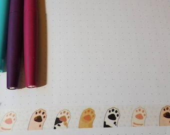Cat Paw 30 in Washi Tape Sample