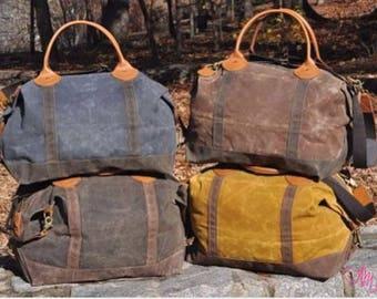 Monogram Weekender, Monogram Duffle Bag, Monogram Travel Bag, Monogram Overnight Bag