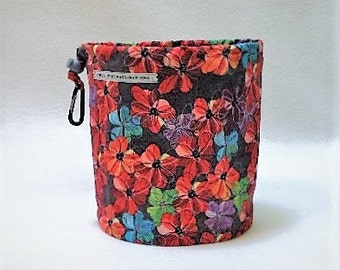 Happy Flowers on a Gray Day Bag