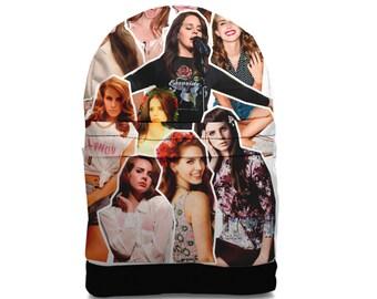 SALE! lana del rey Photo Collage backpack bag