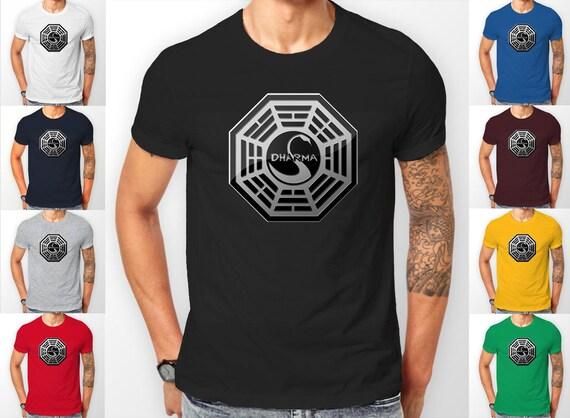 Dharma Initiative Lost show Tee shirt T-Shirt
