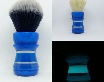Blue Meltdown - 24mm or 26mm Tuxedo, 24mm Cashmere, 24mm BOSS, or 24/26mm handle only shaving brush (27mm socket)
