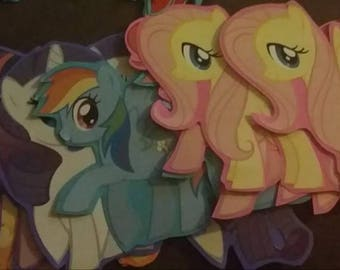 My little pony INSPIRED cutouts