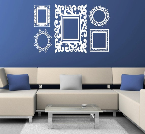 Fancy Frame Wall Decals by itswritteninvinyl
