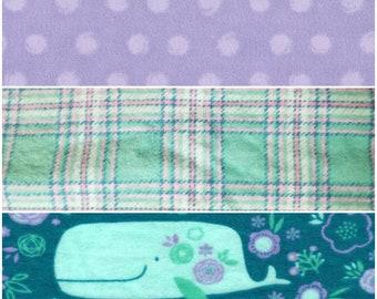 Flannel receiving blanket - Receiving blanket  large receiving blanket  girl receiving blankets / purple receiving blanket / swaddle blanket