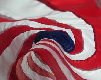 American Flag - Red White and Blue - Photo Print