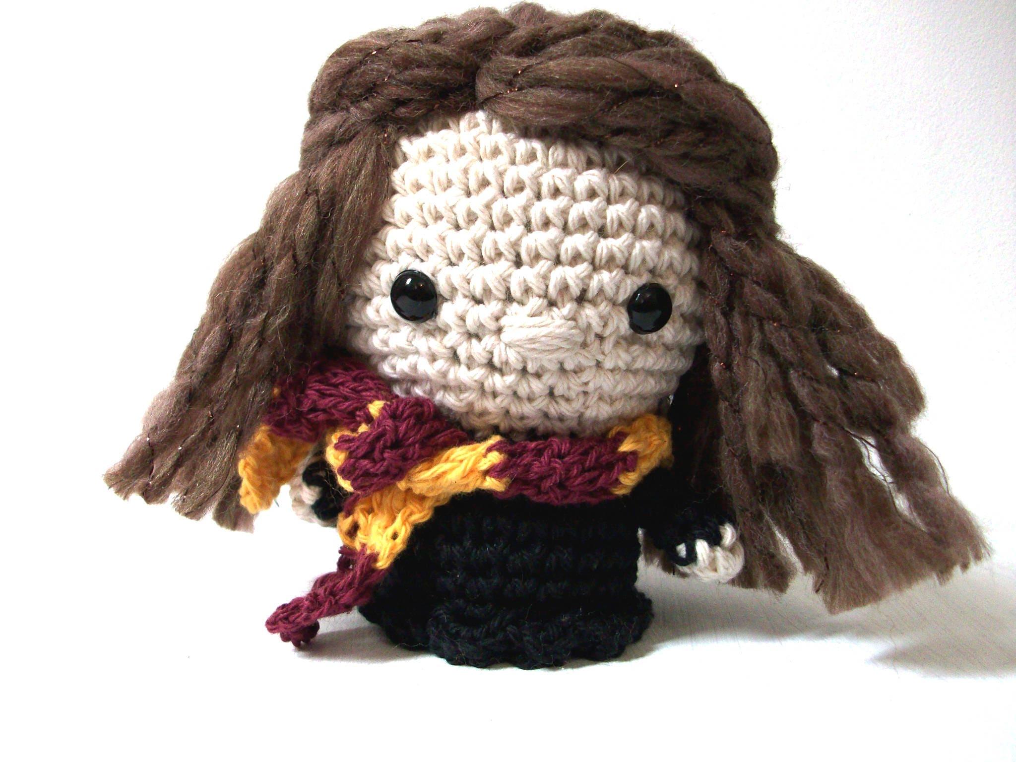 Mini Hermione Granger amigurumi Harry Potter Patrón PDF