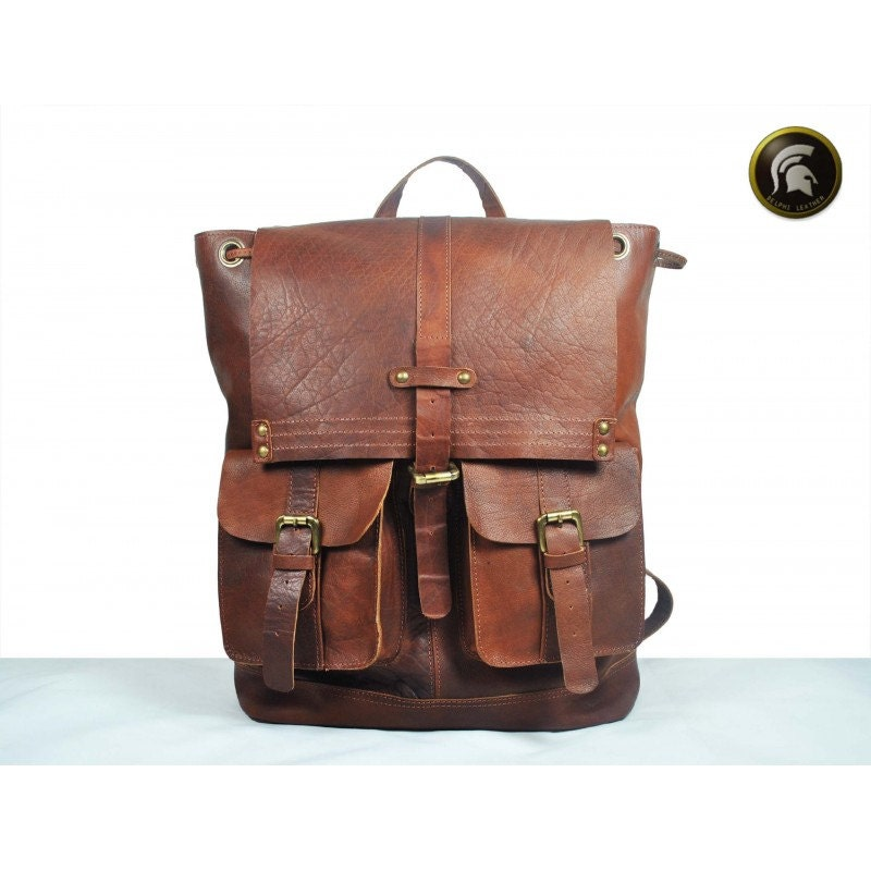 LEATHER BACKPACK leather rucksack rucksack leather