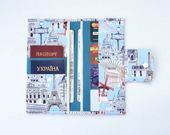 Family travel wallet 4 6 8 10 passport case family passport travel wallet family passport holder wallet passport case travel document holder europe gumiabroncs Image collections