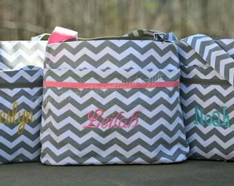 Diaper Bag, Chevron Diaper Bag, Personalized Diaper Bag, Baby Boy Bag, Baby Girl bag, Monogrammed Diaper Bag, Shower Gift, Baby Shower