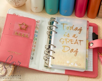 Light Pink Color Crush Personal Planner Kit Webster's Pages • Free Washi Tape with this order
