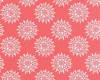 Canyon Fabric, Pink Floral Quilt Fabric, Kate Spain, Moda Fabrics, Sedum Sunset, Modern Quilt Fabric, End of the Bolt, 1.25 yds, 27223 16