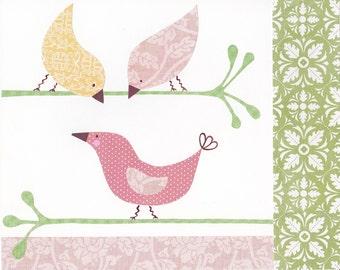 Penelope Bird Collage II - 8x10 Print