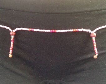Handmade Pillar & Bell Waist Beads