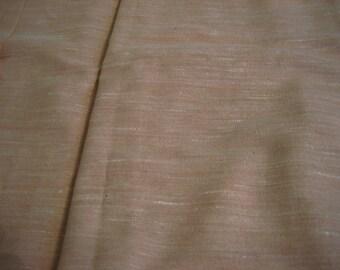 Pale salmon/peach cotton linen suiting