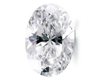 Cubic Zirconia Crystal Clear White Oval AAA Loose Stones (3x2mm - 18x13mm)