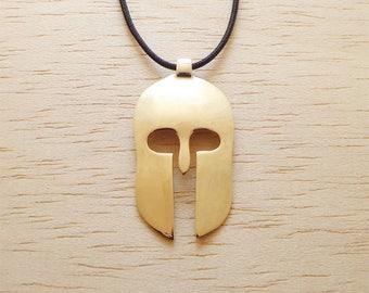 SPARTAN, Ancient, Greek, King, Leonidas, 300, Warrior, Helmet, Handcrafted, Spartan, Pendant, Spartan Necklace, Spartan Gift