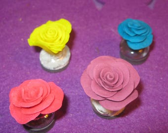 CLAY ROSE MAGNETS