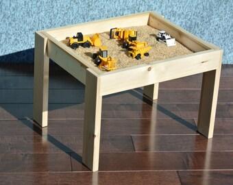 Table de petit jeu sensoriel
