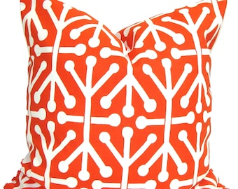 OUTDOOR Pillows, Orange Outdoor Pillow Covers, Orange Pillow Cover, Orange Decorative Pillow, Orange Pillow, Orange Pillows, Orange Cushion