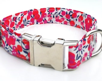 Liberty Whiltshire Dog collar, Dog Bowtie or Dog Bowtie Collar Set