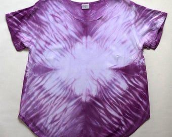 M Purple Arashi Scoopneck Blouse