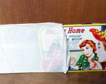 Vintage Happy Home Needle Book Kit NOS Complete Original Outer Envelope
