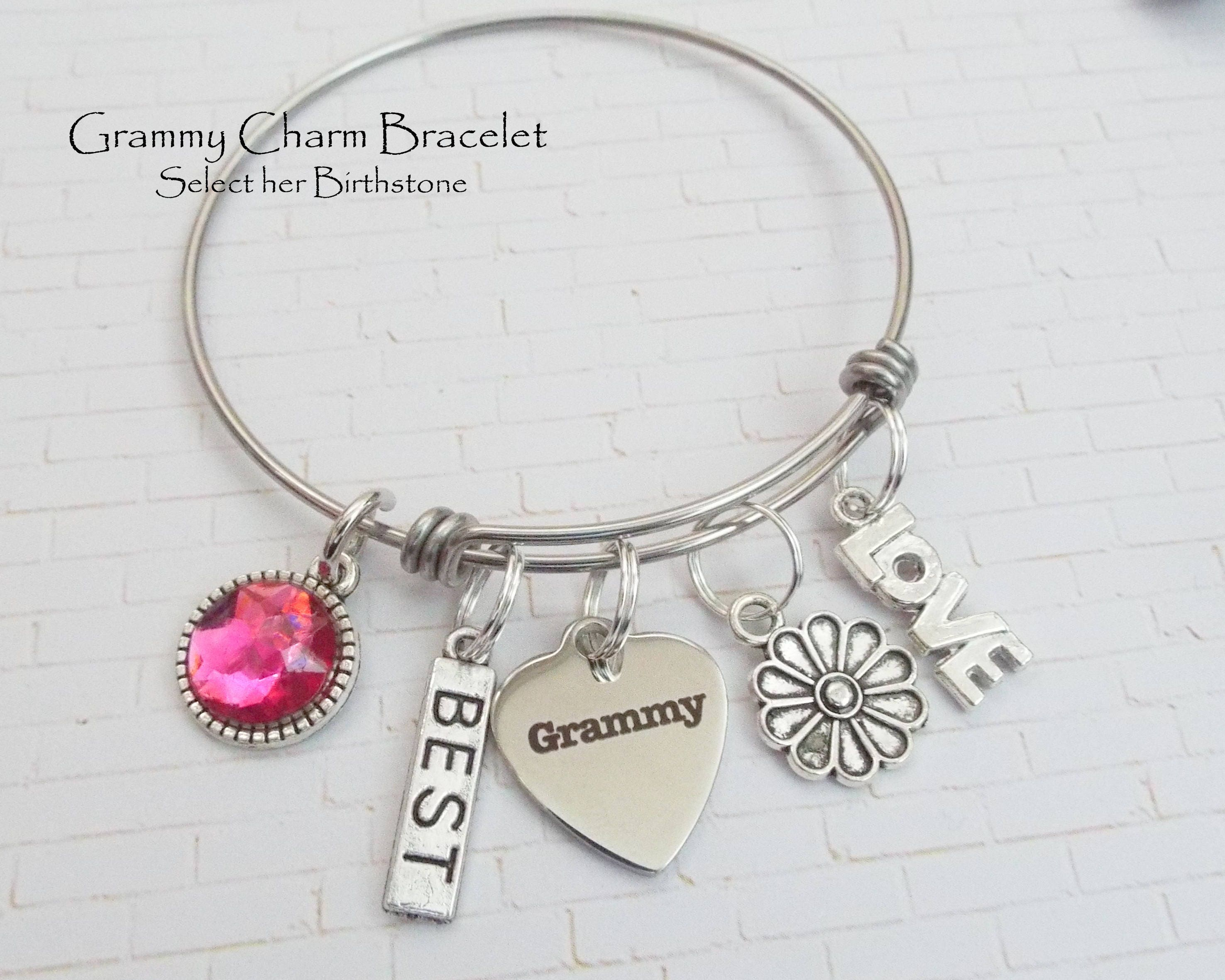 grandchild bracelet grammy fullxfull photo il mother listing gallery for s grandmother day gift mothers