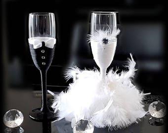 Flûtes champagne personnalisables pour votre mariage